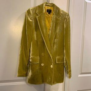 J Crew Collection Silk Tuxedo Blazer